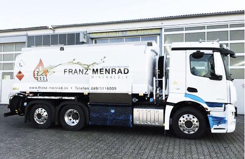 Wir liefern Ihnen Brennstoffe für München und Umgebung schnell und kompetent