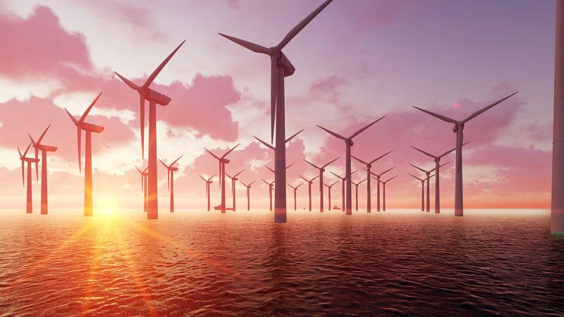 Windenergie Lieferung