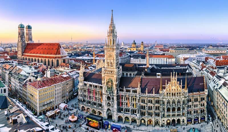 Wir liefern Heizöl auch für das Zentrum von München